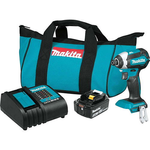 Makita XDT131 18V LXT Lithium-Ion Brushless Cordless Impact Driver Kit (3.0Ah) review