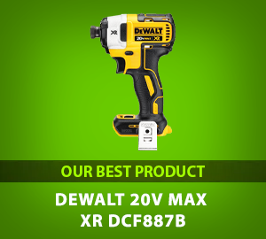 DEWALT 20V MAX XR Impact Driver Kit, Brushless, 3-Speed, 1/4-Inch, Tool Only (DCF887B) - Our Best Product