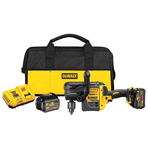 DEWALT DCD460T2 60V MAX 2 Battery FLEXVOLT Stud Joist Drill Kit, 1/2 review